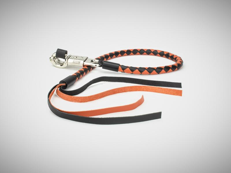 Black & Orange Get Back Whip