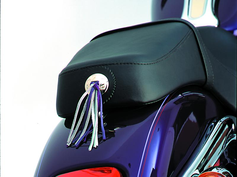 Fringe Concho On Seat on HD Deuce - Purple & Silver