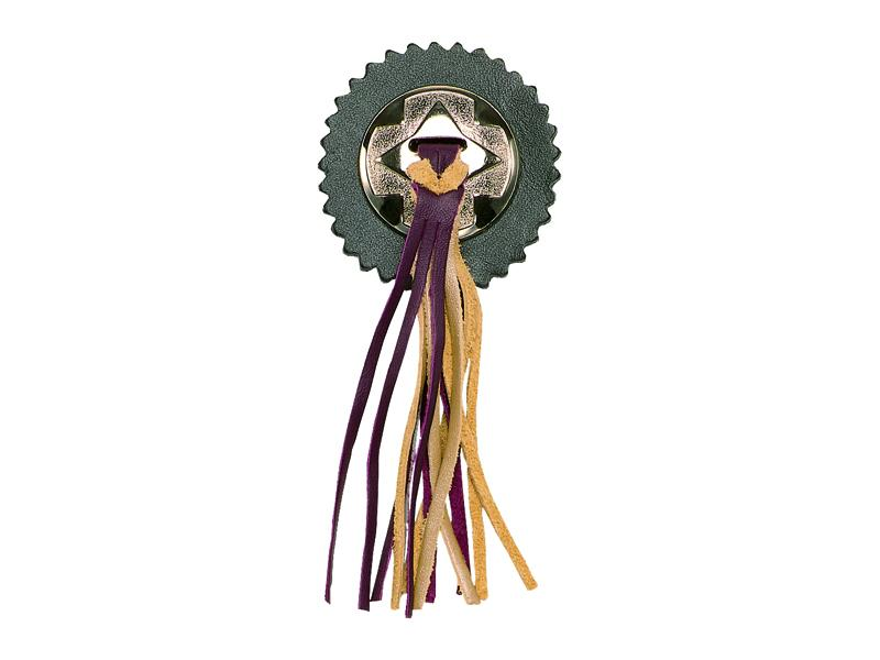 Fringed Concho Kit - Burgundy & Gold